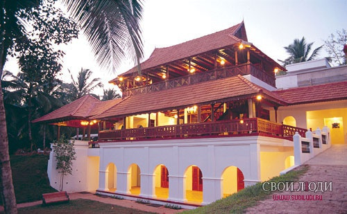 Отель Travancore Heritage 4*+