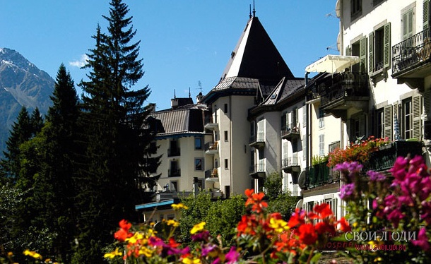 Отель Grand Hotel Des Alpes 4*