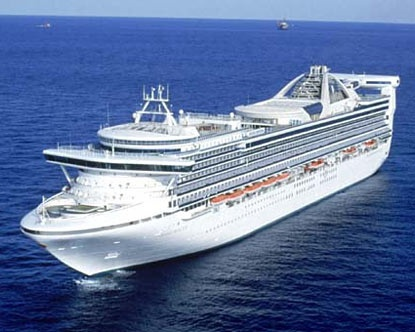 Crown Princess 5*, круиз