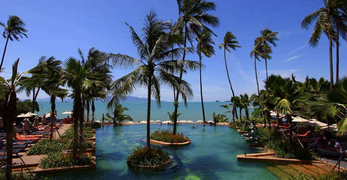 Отель Anantara Bophut Resort & Spa 5*
