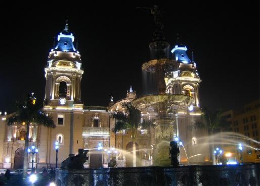 Кафедральный собор в Лиме, Перу