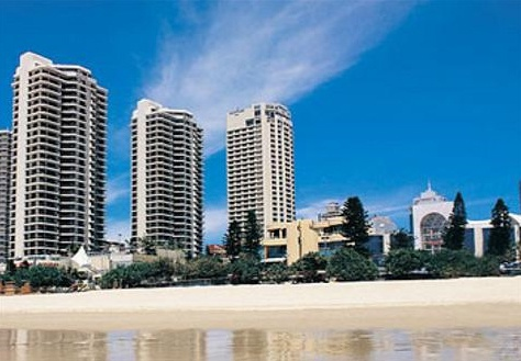 Отель Courtyard by Marriott Surfers Paradise 4*