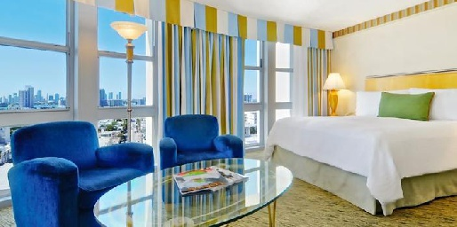 Номер отеля Loews Miami Beach Hotel 5*, США