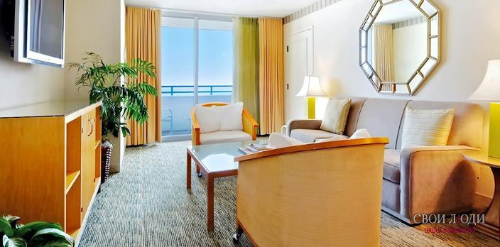 Отель Loews Miami Beach Hotel 5*