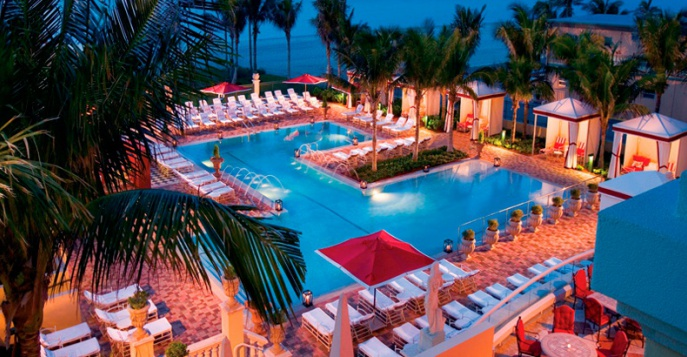 Отель Acqualina Resort & Spa on the Beach 5*