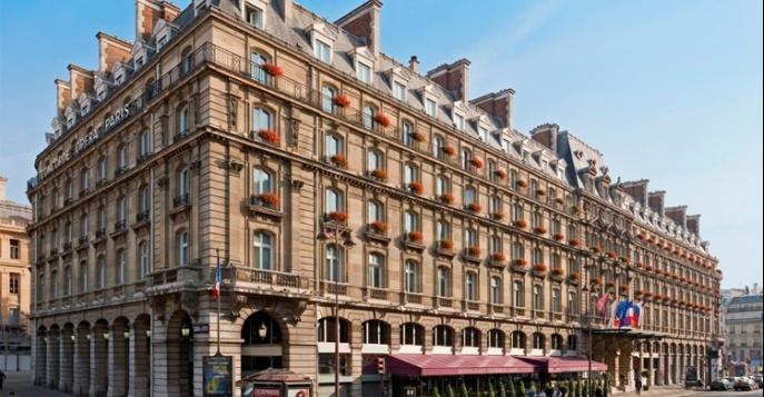 Отель concorde opera paris saint lazare 4