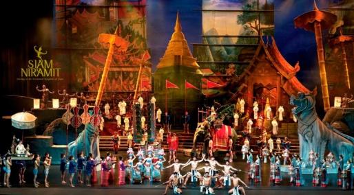Шоу «Siam niramit»