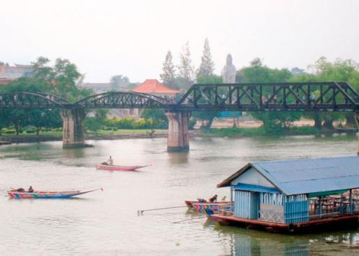 Дорога Смерти, Таиланд