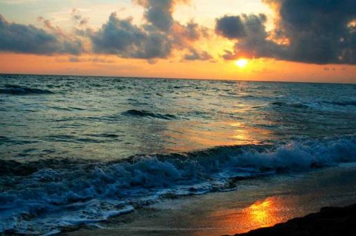 Пляж в области Маремма - Тоскана, Италия