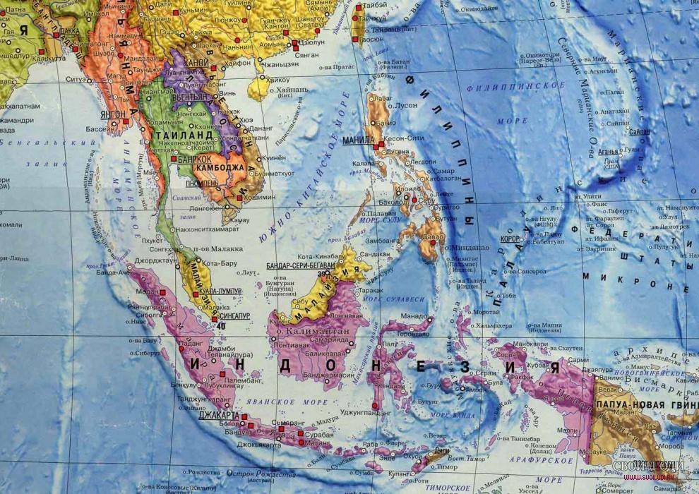 остров бали фото на карте мира