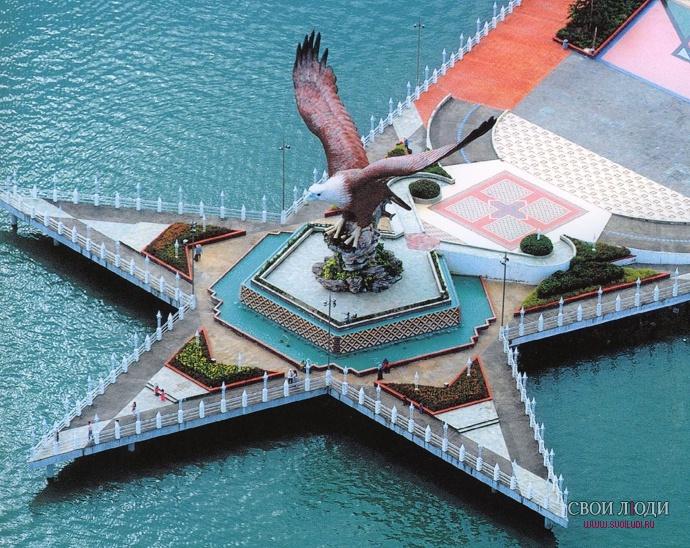 Площадь орла лангкави малайзия