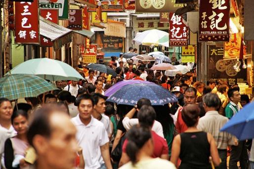 Улицы Макао, Китай