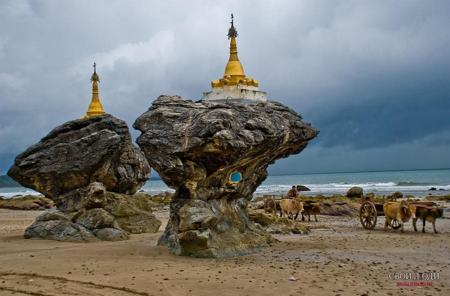 Пляжный отдых в декабре в мьянме