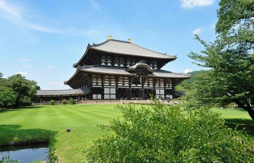 Храм Todai-ji - Нара, Япония
