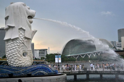 Merlion Park - Сингапур