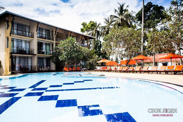 Отель Unawatuna Beach Resort 3*