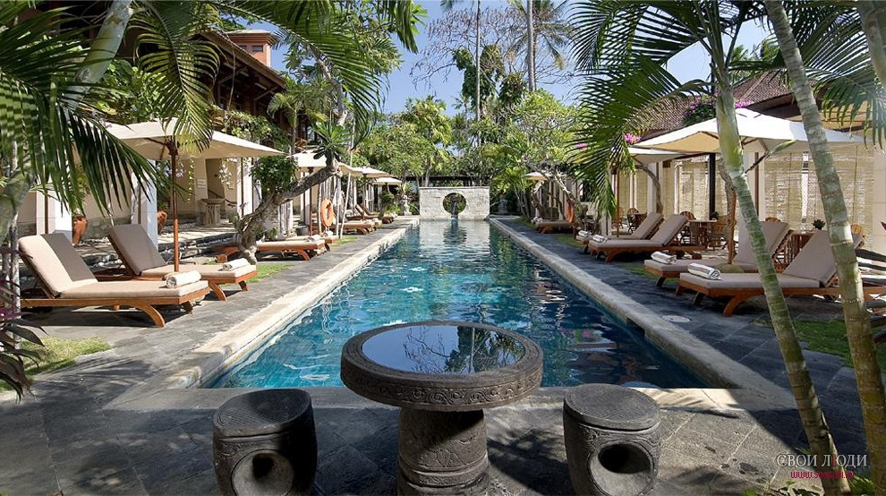Отель Nusa Dua Beach Hotel & Spa 5*